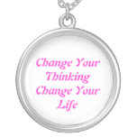 Cambie su cambio de pensamiento su collar de la vi