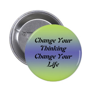 Cambie su cambio de pensamiento su vida pin
