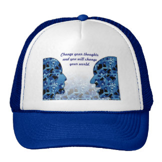 Cambie sus pensamientos --Gorra del camionero Gorras