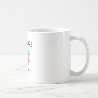 Cambíelo detrás tazas de café