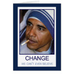 Cambíenos no puede incluso creer tarjetas