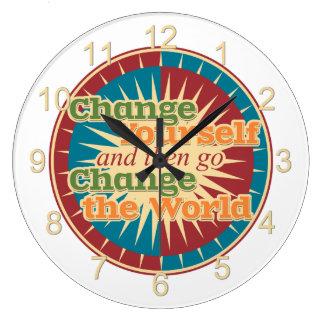 Cambíese Reloj Redondo Grande
