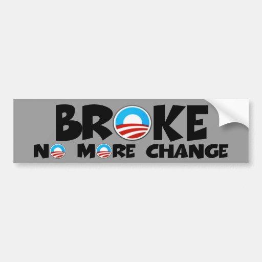 Cambio anti, Obama anti Etiqueta De Parachoque