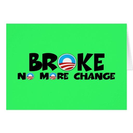 Cambio anti, Obama anti Felicitacion