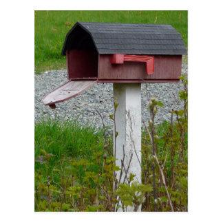 Cambio de buzón rural del país de la dirección postales