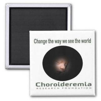 Cambio de Choroideremia vemos el mundo - imán
