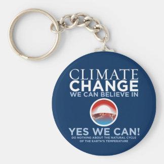 Cambio de clima - podemos sí llavero de la parodia