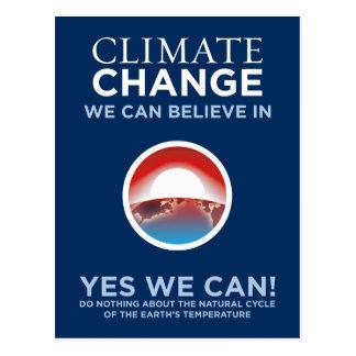 Cambio de clima - podemos sí postal de la parodia