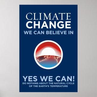 Cambio de clima - podemos sí poster de la parodia
