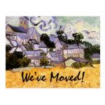 Cambio de dirección con el arte de Van Gogh Postales