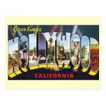 Cambio de dirección, Hollywood California del vint