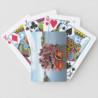 Cambio de imagen extremo baraja cartas de poker