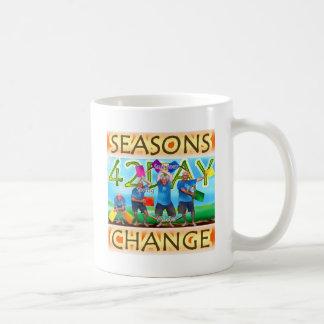 Cambio de las estaciones taza