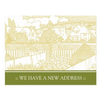 Cambio de Nouveau del arte de postal de la