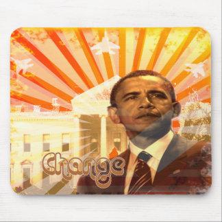 Cambio de Obama Alfombrilla De Raton
