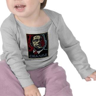 Cambio de Obama Camisetas