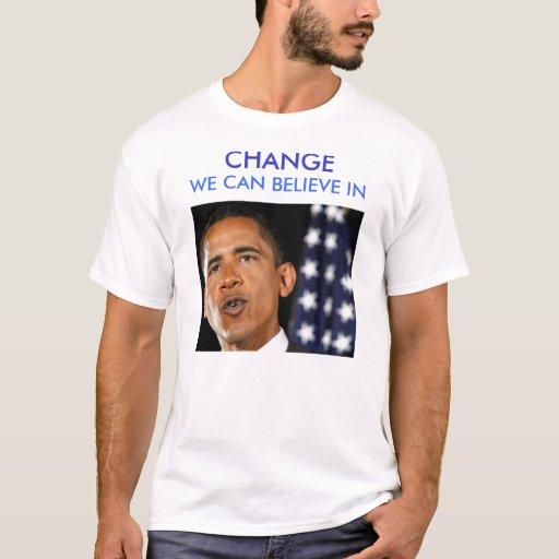 CAMBIO de Obama Playera