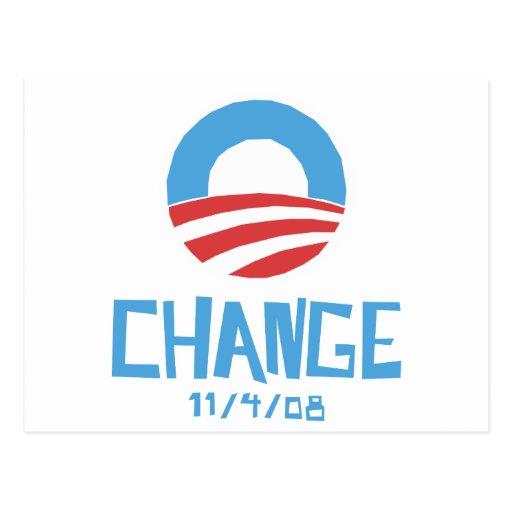 Cambio de Obama Postal