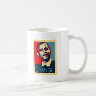 Cambio de Obama Tazas De Café