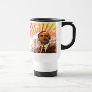 Cambio de Obama Taza De Viaje