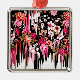 Cambio de rumbo estampado de flores de fusión ornamento para reyes magos