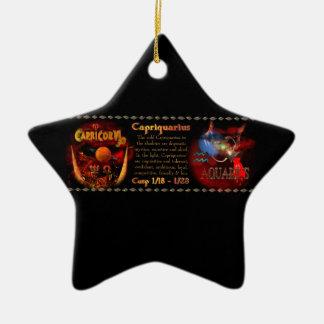 Cambio de signo del acuario del Capricornio de Val Ornaments Para Arbol De Navidad