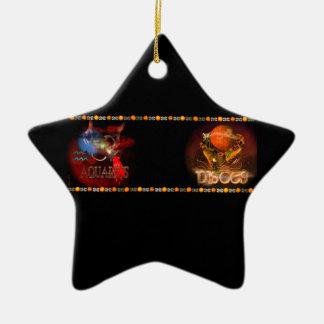 Cambio de signo del zodiaco de Piscis del acuario Adornos