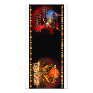Cambio de signo del zodiaco de Piscis del acuario  Tarjeta Con Foto Personalizada