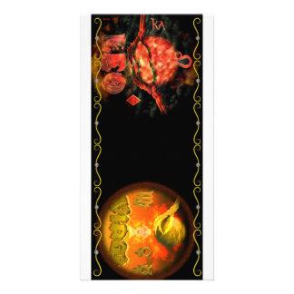 Cambio de signo del zodiaco del virgo de Valxart L Tarjeta Fotográfica Personalizada