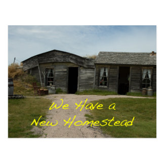 Cambio de tarjeta de la dirección: Nueva granja Postal