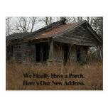 Cambio de tarjeta de la dirección: Nuevo pórtico Postales