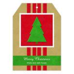 Cambio de tarjeta plana del navidad de la anuncios