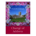 Cambio del art déco de los rubíes de la catedral d tarjeta postal