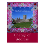 Cambio del art déco de los rubíes de la catedral postal