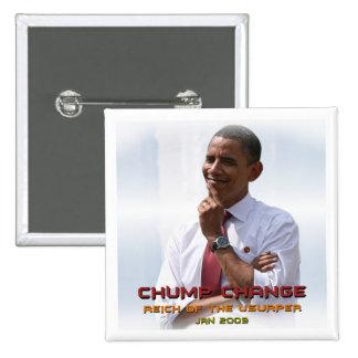 Cambio del zoquete (Obama) Pins