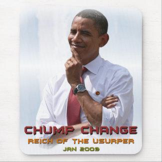 Cambio del zoquete (Obama) Tapete De Ratón