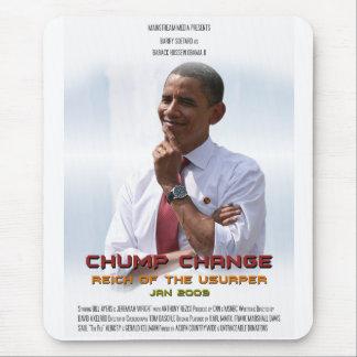 Cambio del zoquete (Obama) Tapetes De Ratón