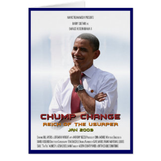 Cambio del zoquete (Obama) Tarjetas