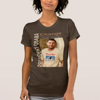 ¡Cambio - encendido para arriba! Camiseta