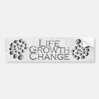 Cambio espiral de piedra del crecimiento de la vid pegatina para auto