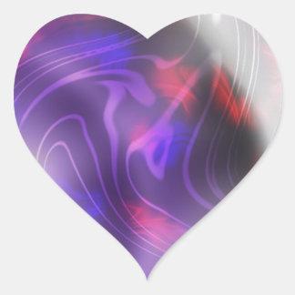 Cambio Pegatina En Forma De Corazón