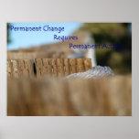 Cambio permanente impresiones