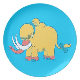 ¡Cambios de imagen del mamut lanoso! (Xandria) Plato De Comida