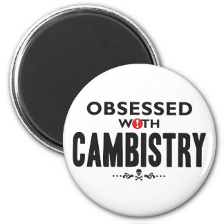 Cambistry Obsessed 2 Inch Round Magnet