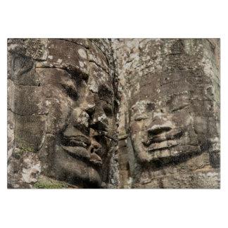 Cambodia, Angkor Wat. Angkor Thom, Bayon Cutting Board