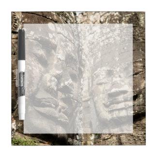 Cambodia, Angkor Wat. Angkor Thom, Bayon Dry Erase Board