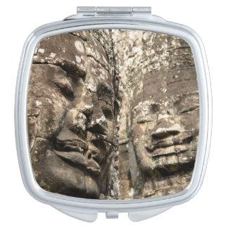 Cambodia, Angkor Wat. Angkor Thom, Bayon Makeup Mirror