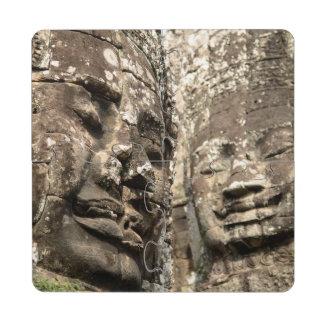 Cambodia, Angkor Wat. Angkor Thom, Bayon Puzzle Coaster