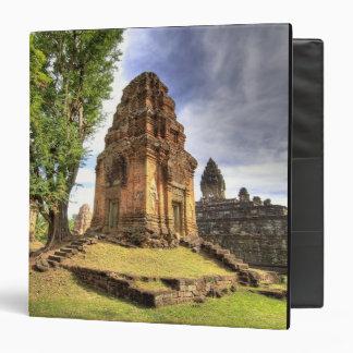 Cambodia, Angkor Wat. View of Bakong Temple. 3 Ring Binder