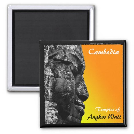 Cambodia, Angkor Watt, Asia (Magnet)